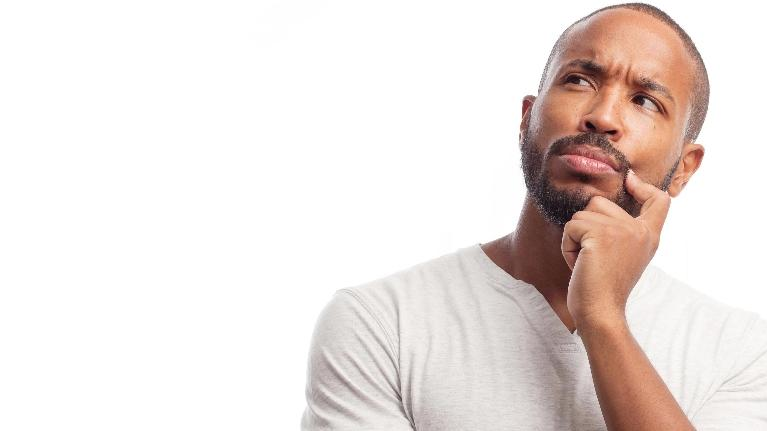 Pensive Male Dental Patient | Dentist Fayetteville AR | Dental Myths Blog